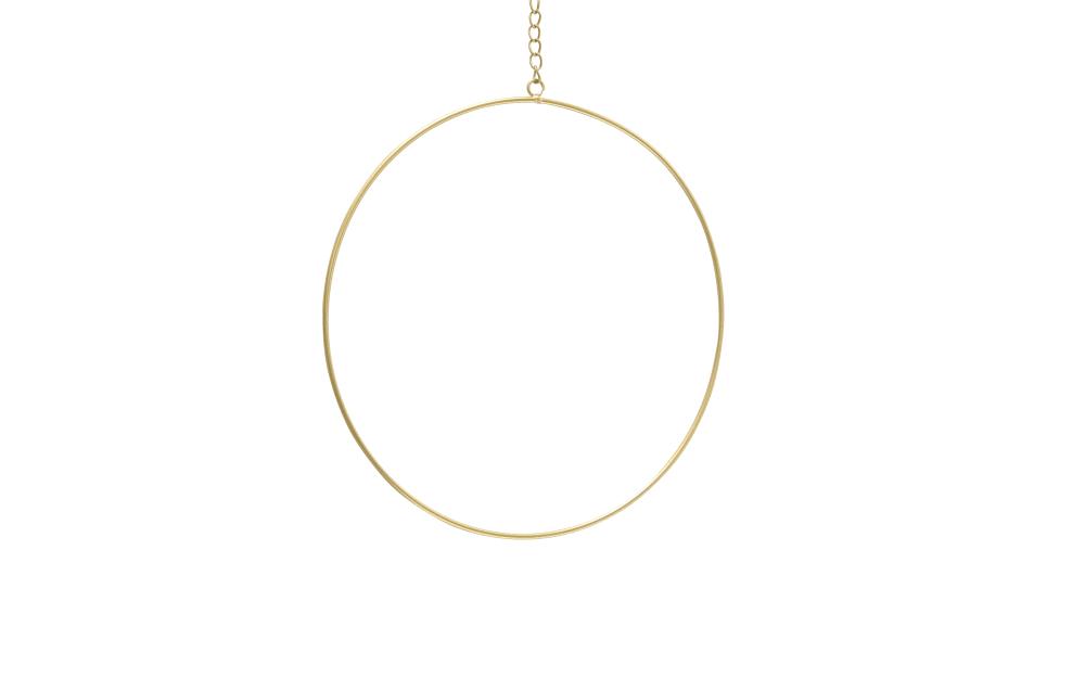 Boltze Dekohänger Rumba in gold, 20 cm