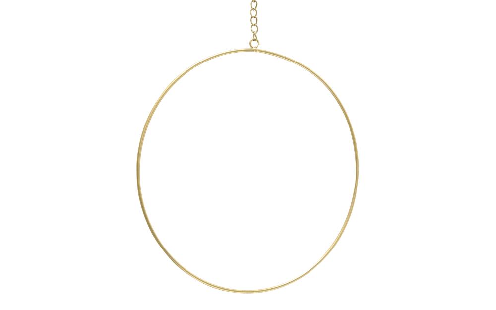 Boltze Dekohänger Rumba in gold, 35 cm