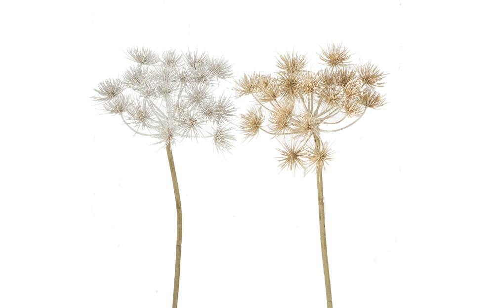 Boltze Kunstpflanze Bärenklau in farbmix, 76 cm