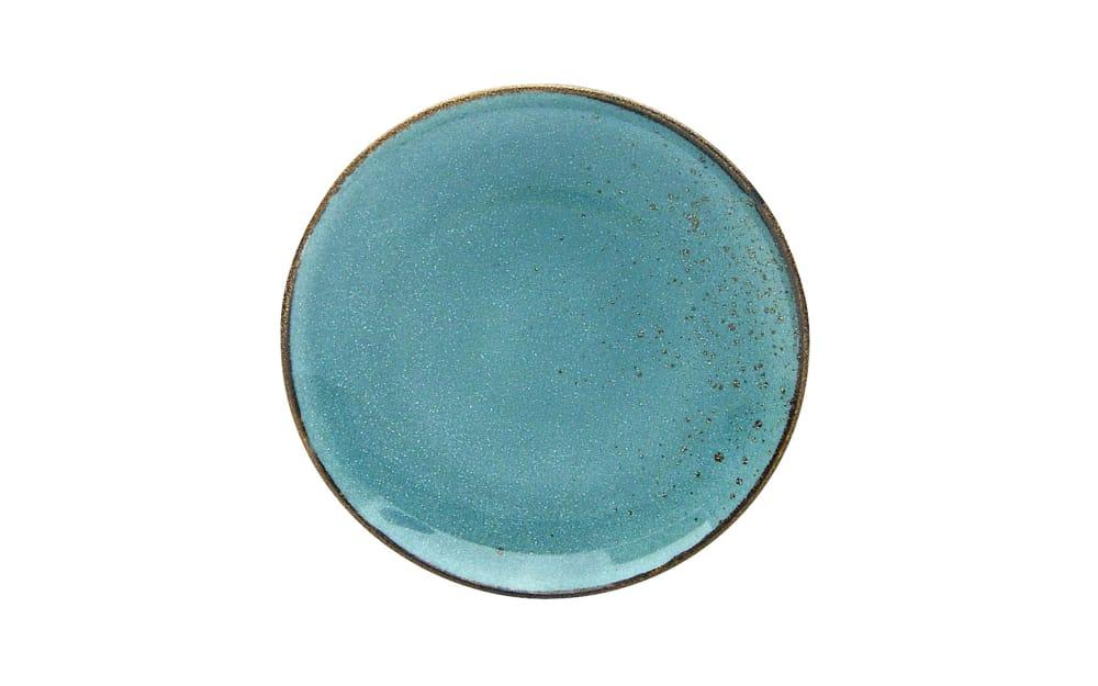 Creatable Dessertteller Nature Collection in wasserblau, 21 cm