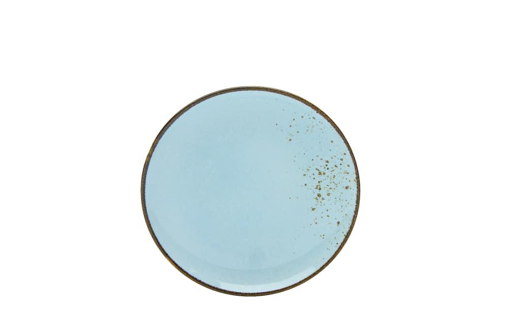 Creatable Dessertteller Nature Collection in light blue, 21 cm