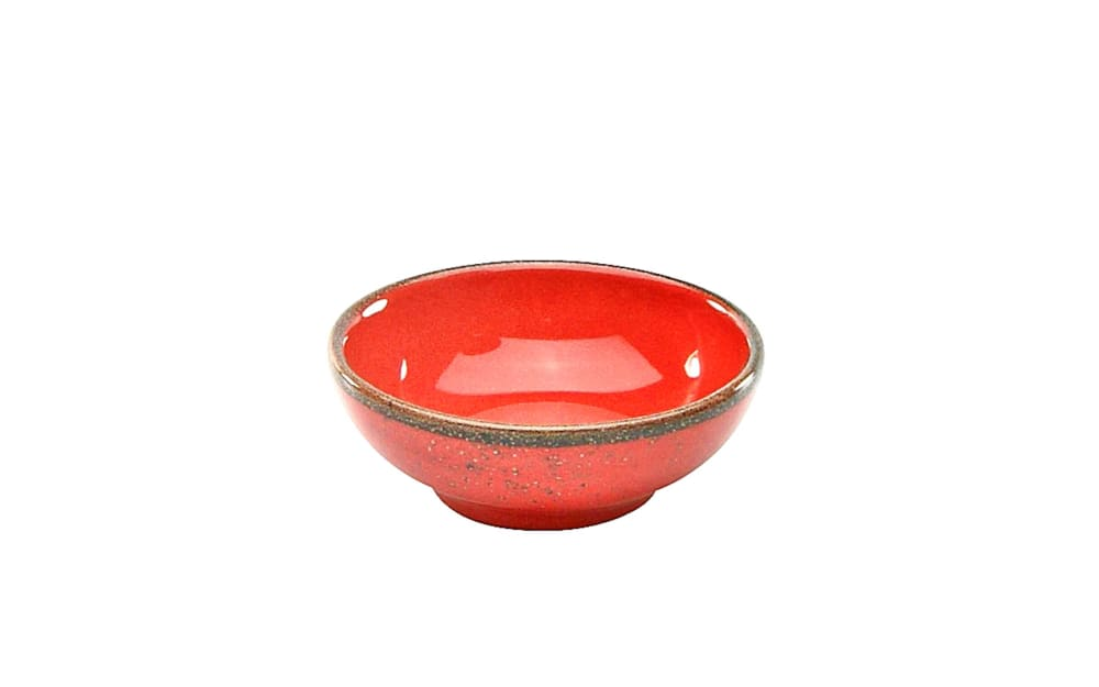 Creatable Sojaschale Nature Collection in rot, 8 cm