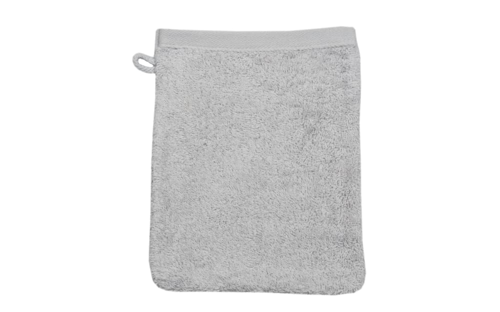 Ross Waschhandschuh Vita in silber, 16 x 22 cm