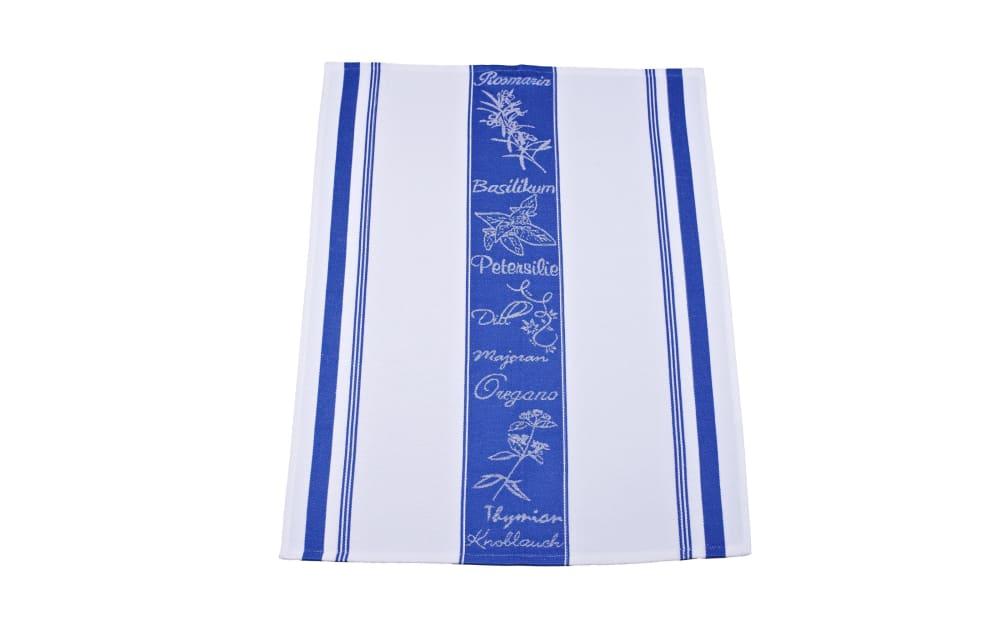 Ross Geschirrtuch in blau/weiß, 50 x 70 cm
