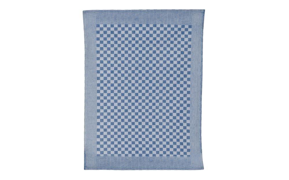 Ross Geschirrtuch mit Schachbrett-Muster in blau