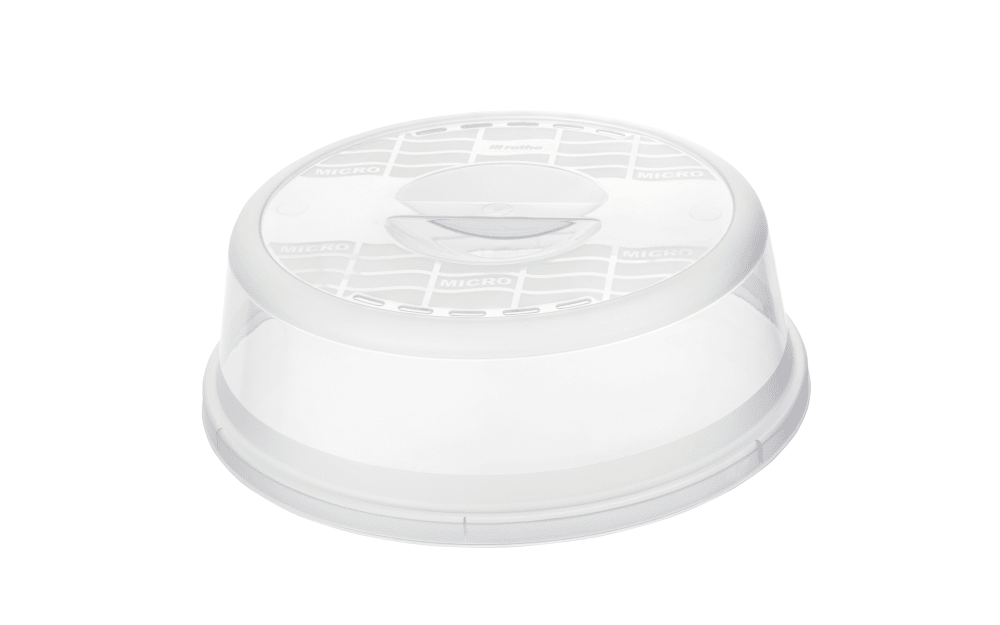 Rotho Mikrowellen-Abdeckhaube in transparent, 28,5 cm