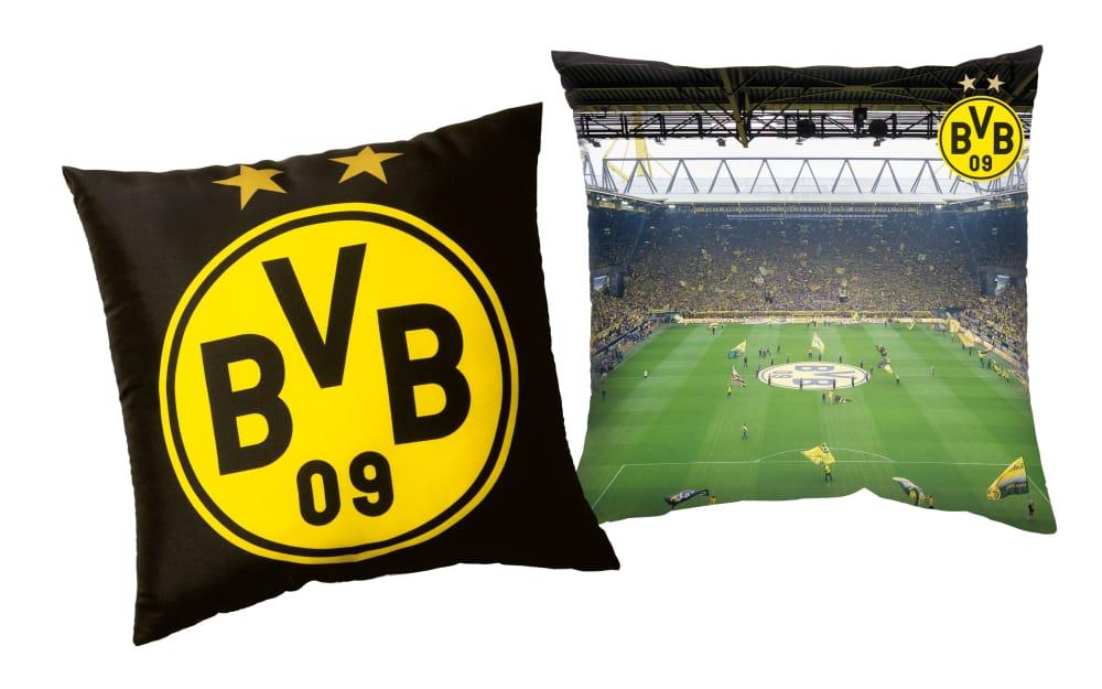 BVB Merchandising BVB-Kissen Südtribüne, 40 x 40 cm