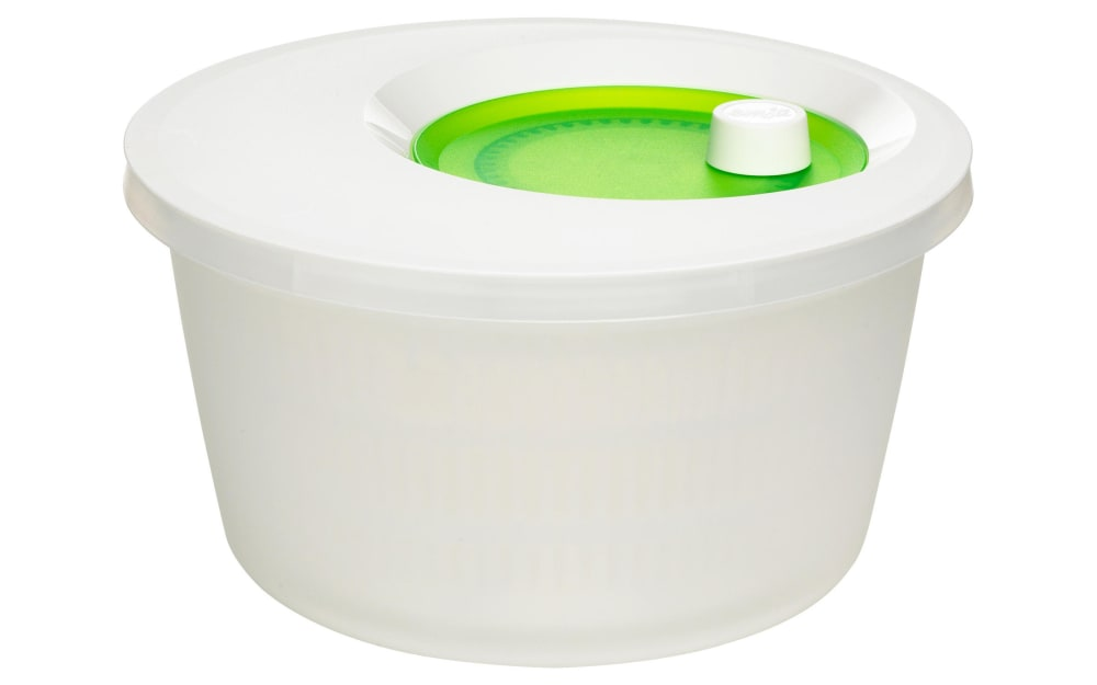 Emsa Salatschleuder Basic in weiß, 4 l