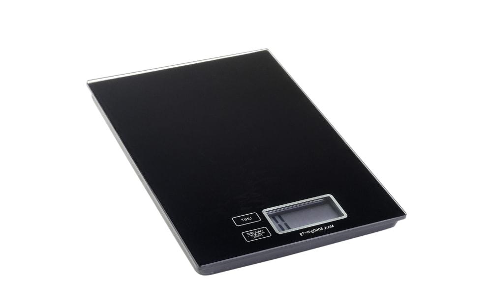 Justinus Digitale Küchenwaage in schwarz, 16,5 x 23 cm