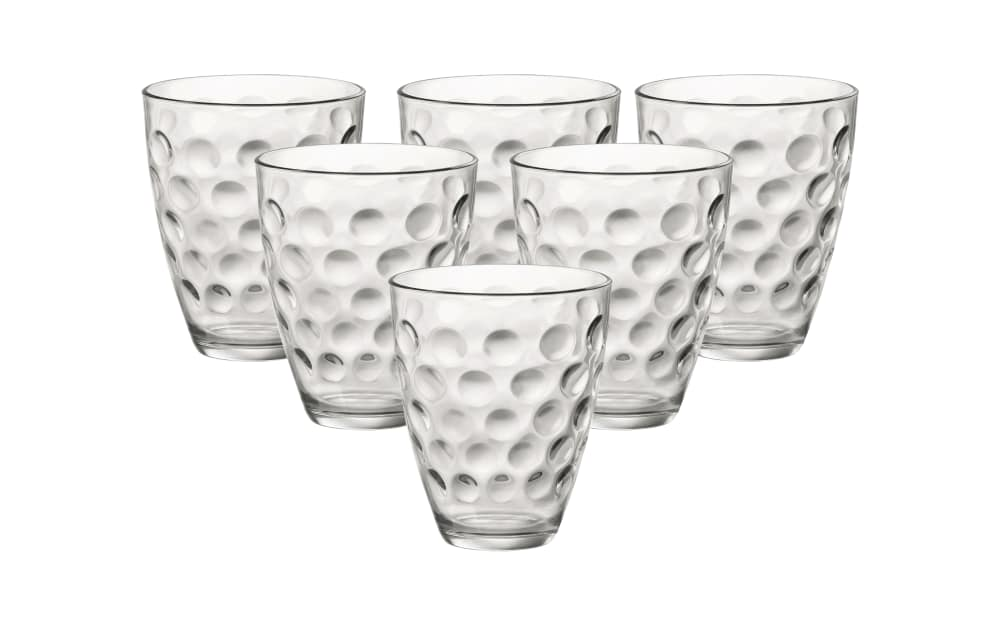 Van Well Longdrinkbecher-Set Dots 39 cl, 6-teilig