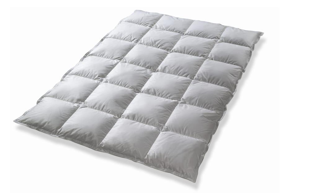 Kuensemüller Daunenkassettendecke Masuren in weiß, 135 x 200 cm