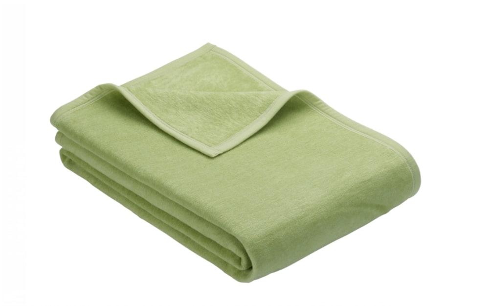 Ibena Kuscheldecke Porto in grün, 150 x 200 cm