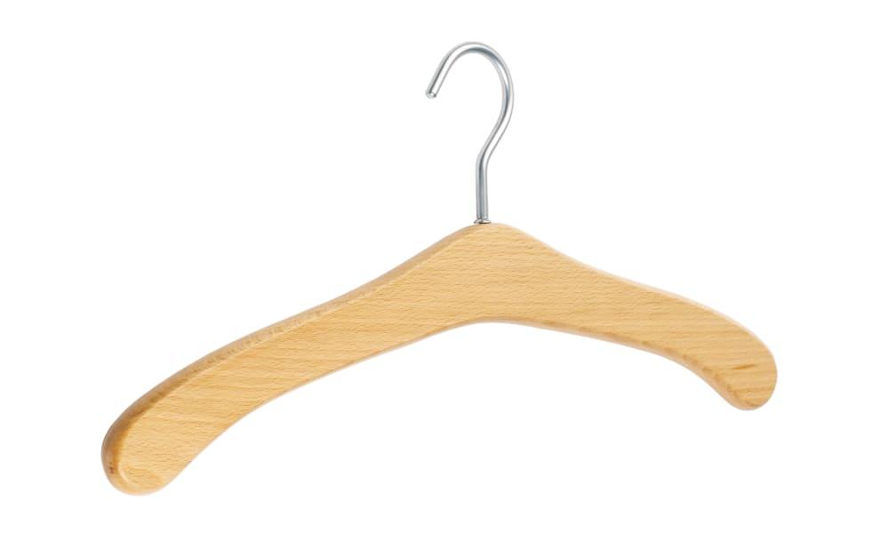 Kleiderbügel Achim aus Buche Natur