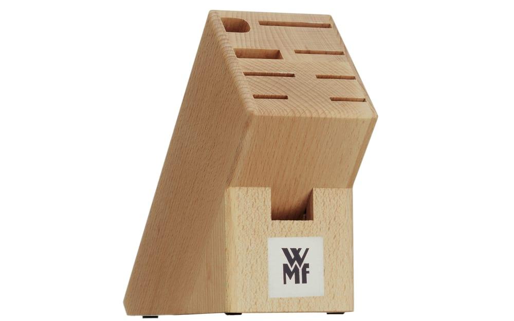 WMF Messerblock aus Buchenholz