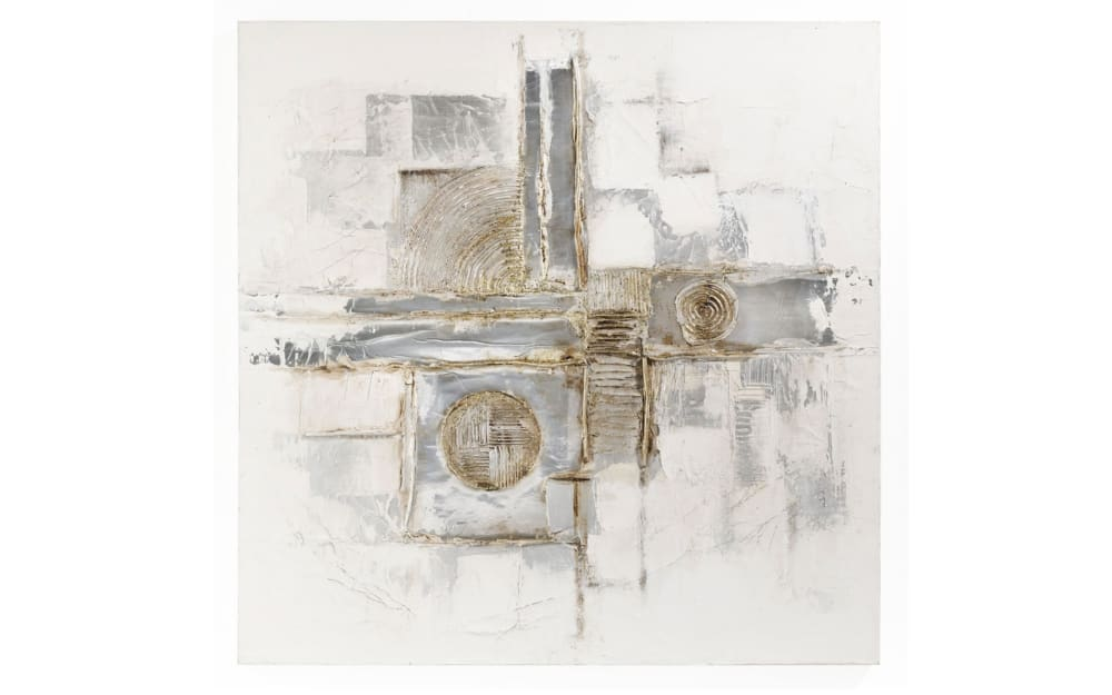 Casa Nova Bild Abstrakt in farbmix, 100 x 100 cm