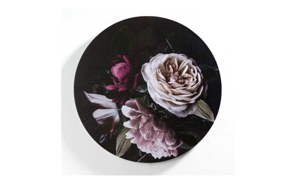 Casa Nova Leinwanddruck Blumen II, 50 cm