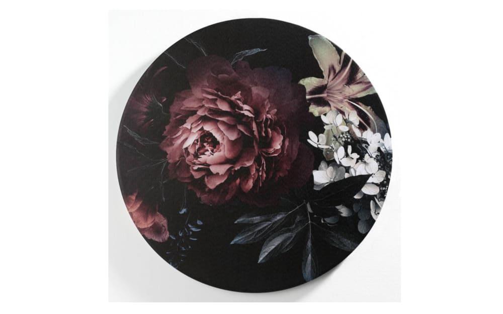 Casa Nova Leinwanddruck Blumen III, 60 cm