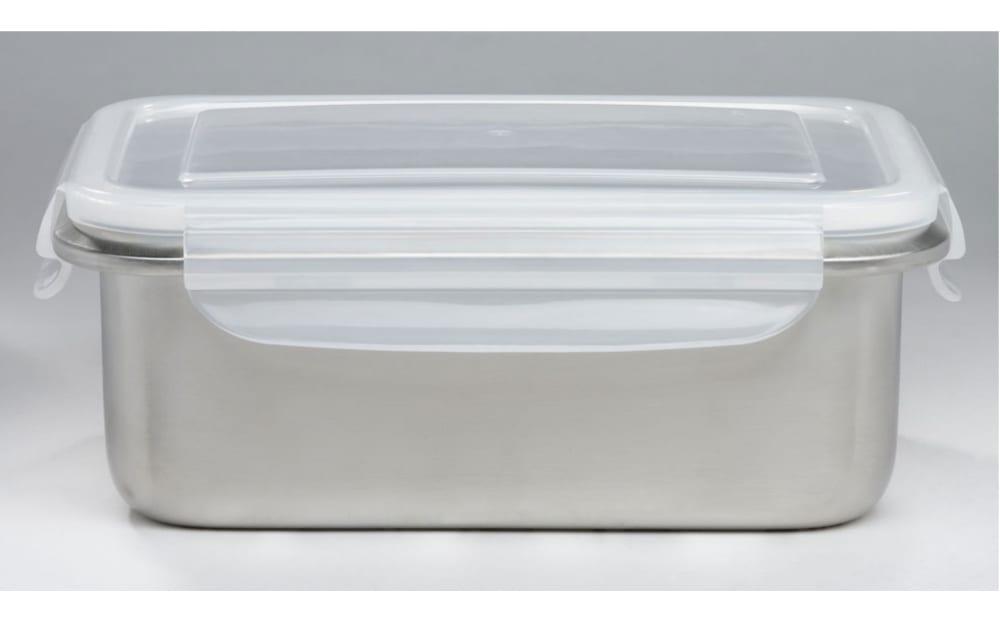 Casa Nova Aufbewahrungsdose in silber, ca. 16,4 cm
