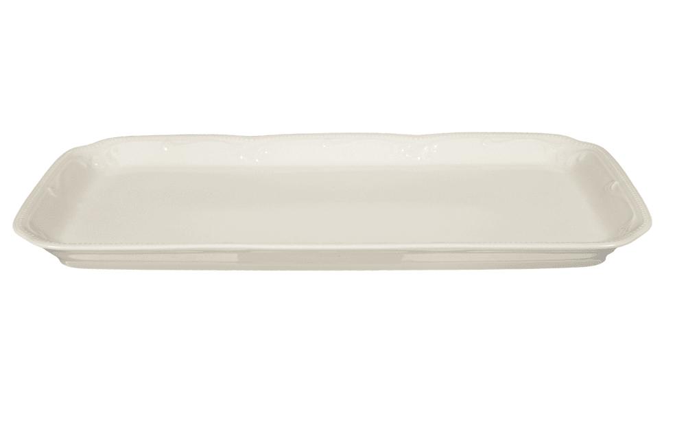 Seltmann Weiden Kuchenplatte Rubin Cream in creme, 35 cm
