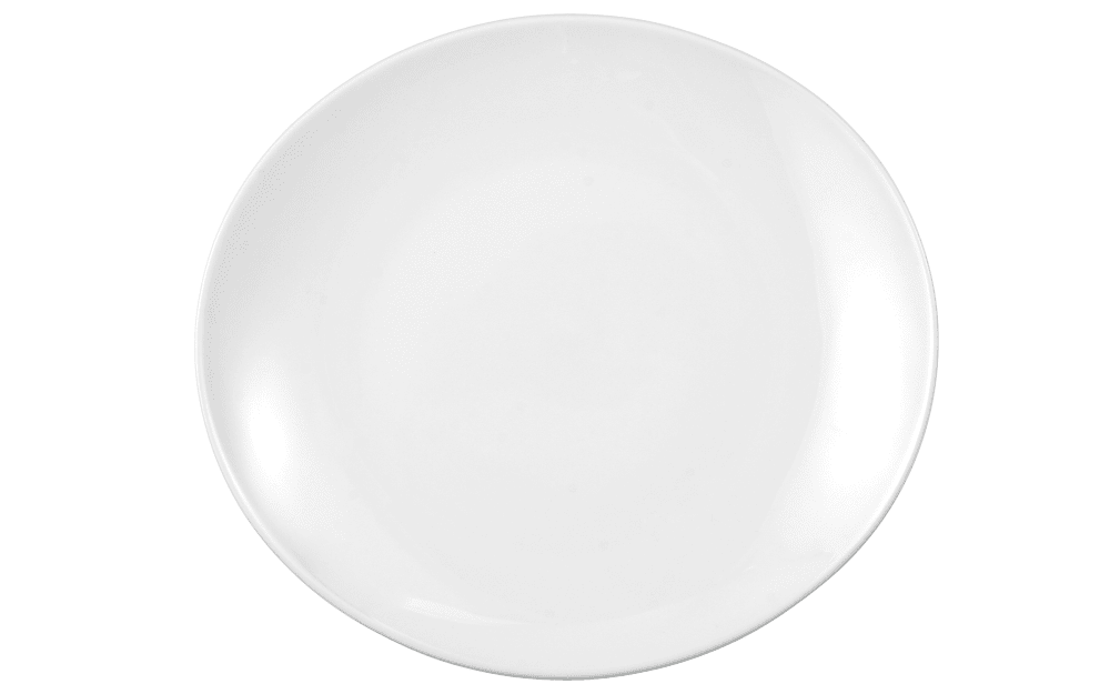 Seltmann Weiden Teller flach Modern Life in weiß/oval, 29 cm