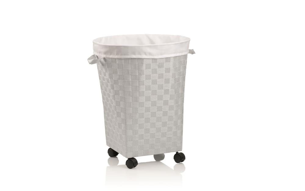 Kela Wäschebox Porto in weiß, 55 cm