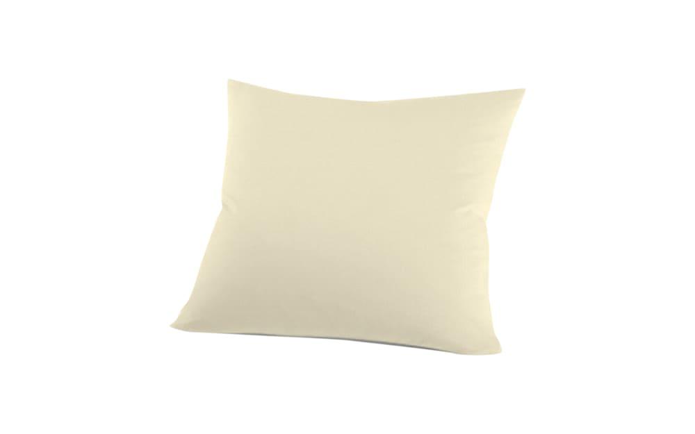 Schlafgut Kissenbezug Mako Jersey in ecru, 80 x 80 cm