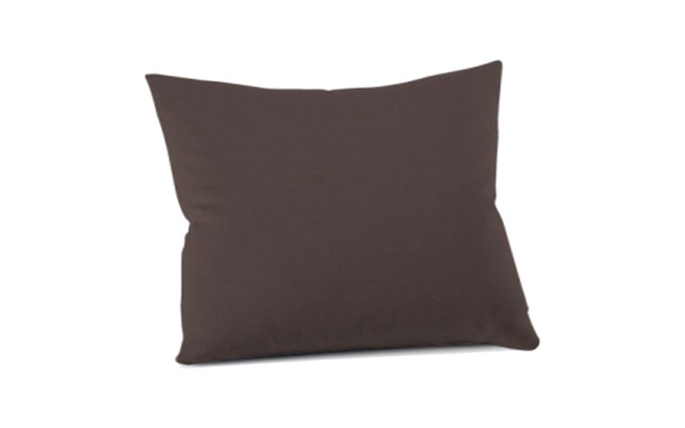 Schlafgut Kissenbezug Mako Jersey in schoko, 40 x 40 cm