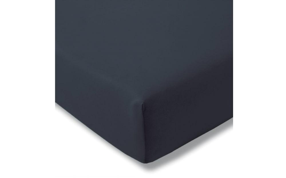 Estella Spannbettlaken Fein Jersey in indigo, 150 x 200 cm