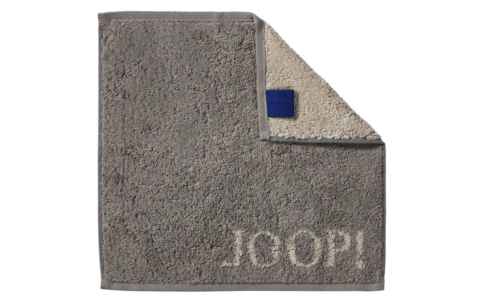 JOOP! Seifenlappen Classic Doubleface in graphit, 30 x 30 cm