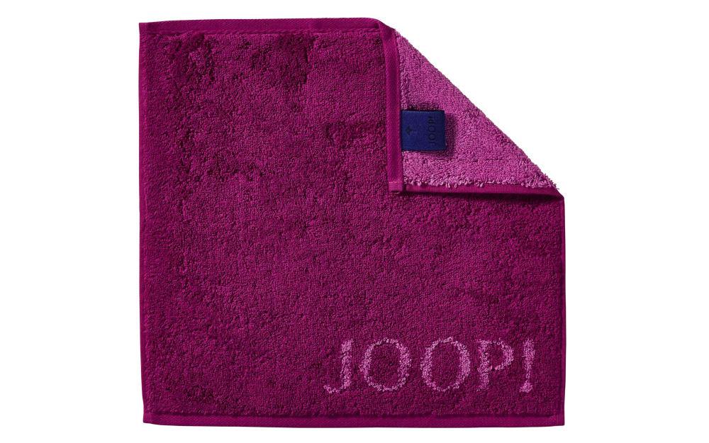 JOOP! Seifenlappen Classic Doubleface in cassis, 30 x 30 cm