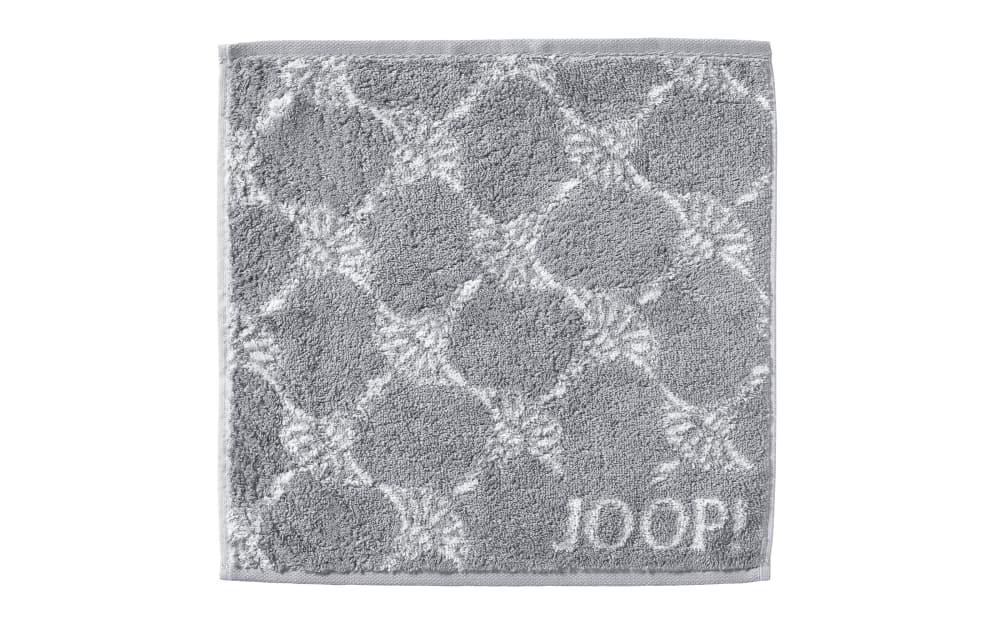 JOOP! Seifenlappen Classic Cornflower in silber, 30 x 30 cm