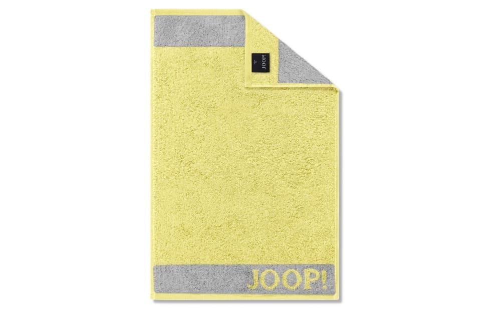 JOOP! JOOP Gästetuch Diamond Uni in lemon, 30 x 50 cm