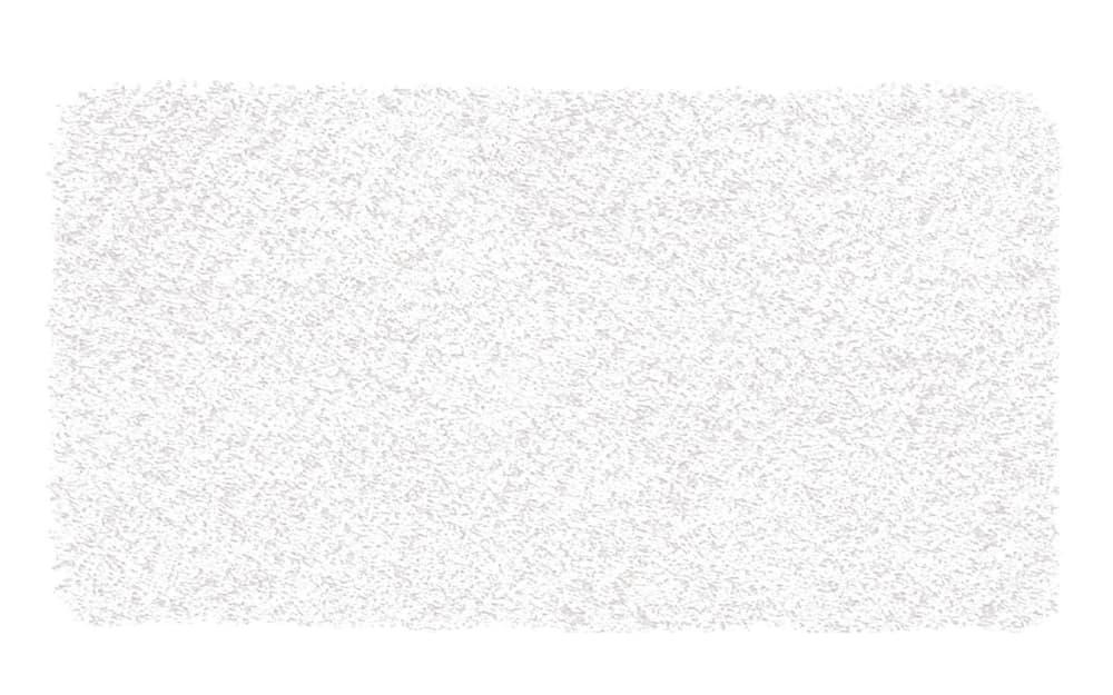 Kleine Wolke Badteppich Trend in weiß, 55 x 65 cm