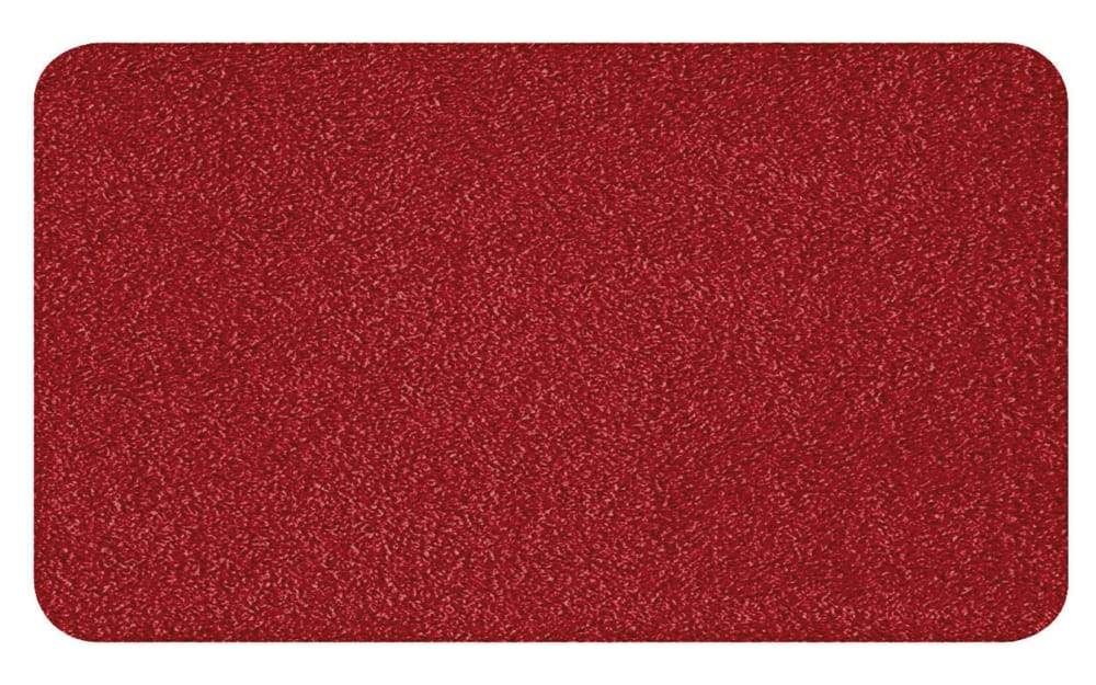 Kleine Wolke Badteppich Super Soft in weinrot, 70 x 120 cm