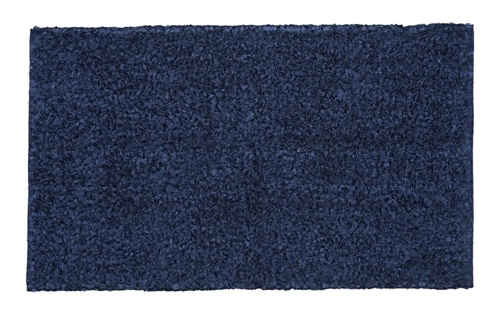 Kleine Wolke Badteppich Delight in dunkelblau, 60 x 100 cm