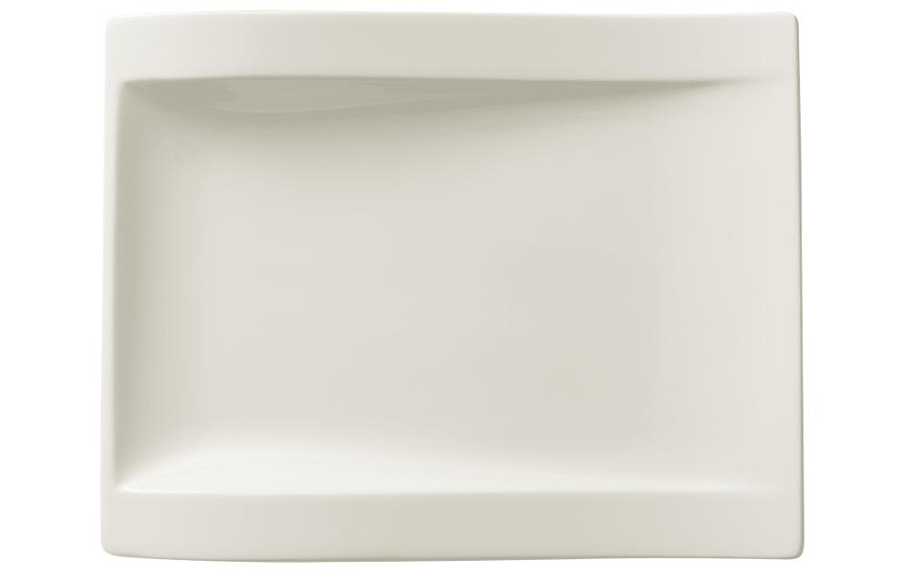 Villeroy & Boch Frühstücksteller New Wave, 26 x 20 cm