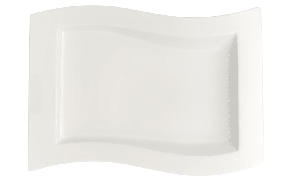 Villeroy & Boch Gourmetteller New Wave, 33 x 24 cm