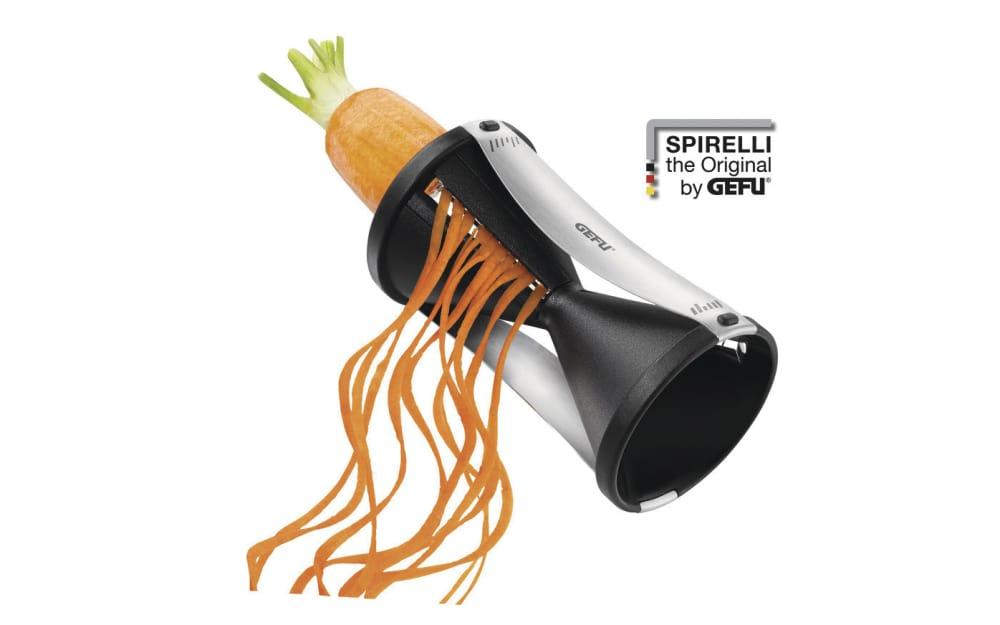 GEFU Spiralschneider Spirelli in schwarz