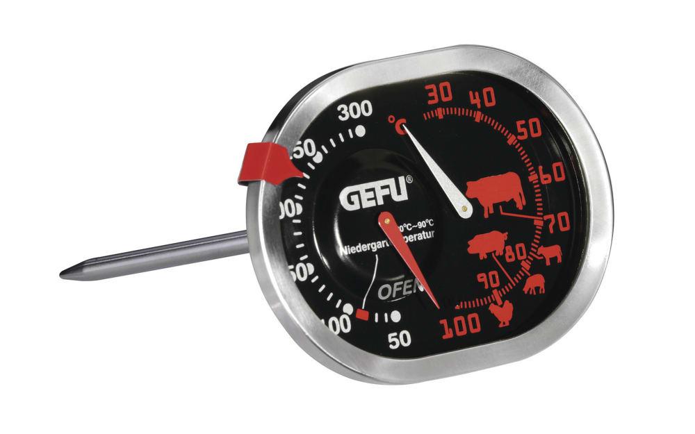 GEFU Braten- und Ofenthermometer aus Edelstahl