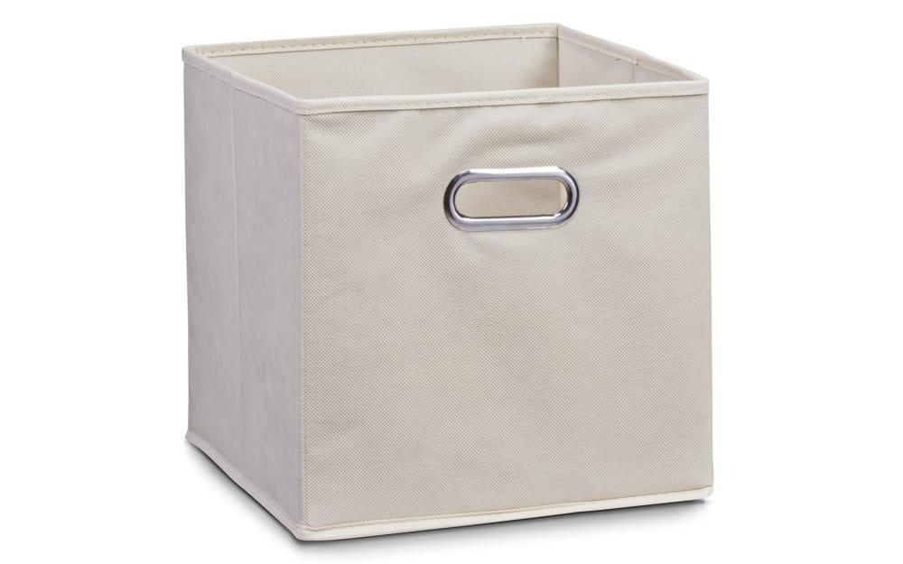 Zeller Aufbewahrungsbox in beige, 28 x 28