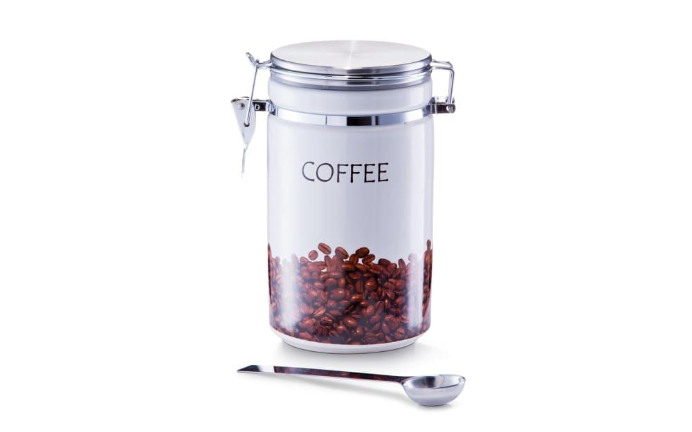 Zeller Kaffeedose mit Löffel, 19 cm