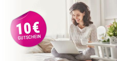 Newsletter - jetzt anmelden und 10,- € Gutschein* sichern!