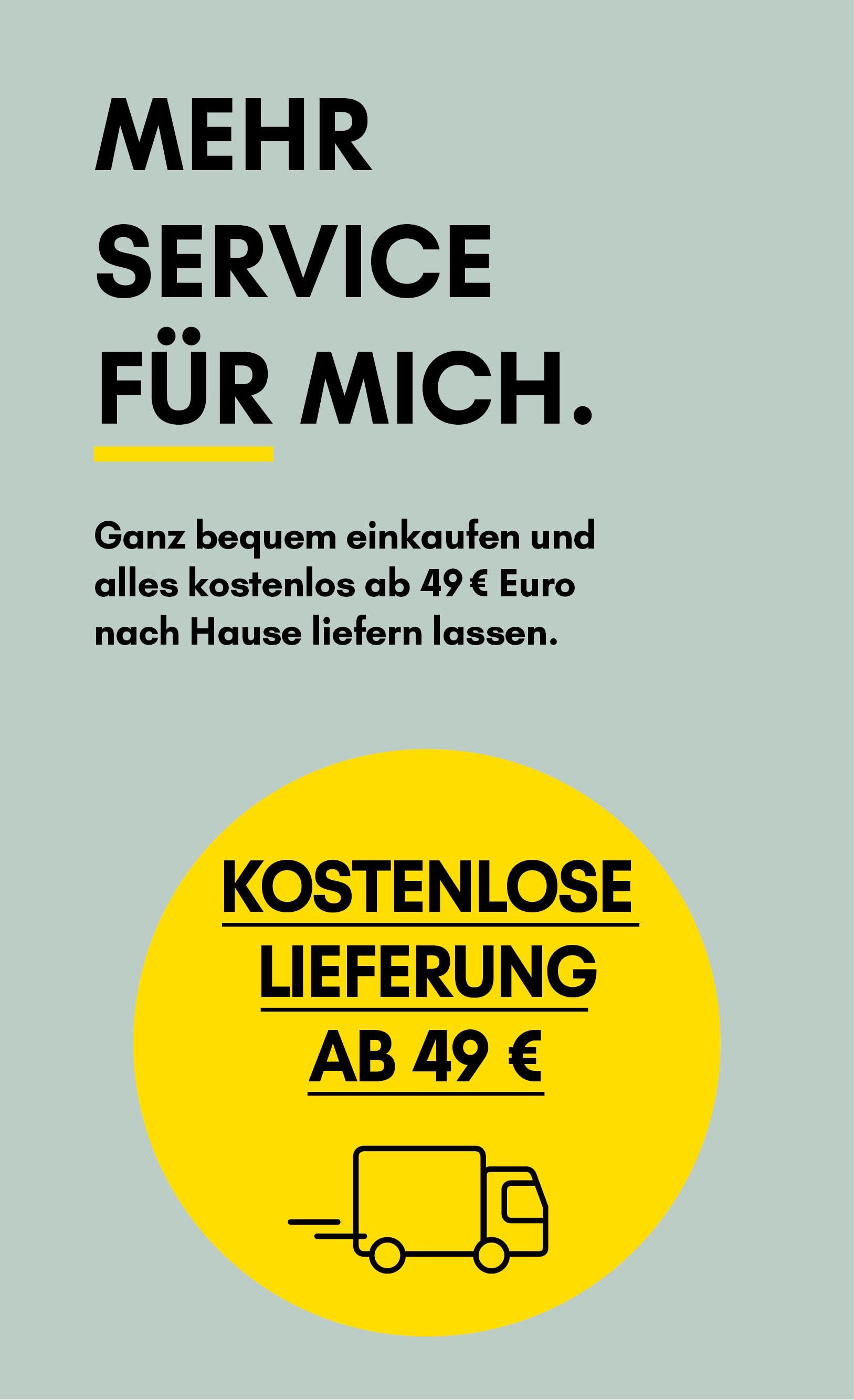 Versandkostenfrei einkaufen ab 29 €