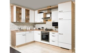 Einbauküche Speed in grau