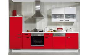Einbauküche Flash in rot