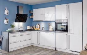 Einbauküche Flash in weiß