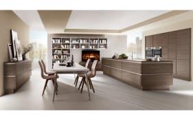 Marken-Einbauküche Structura Gladstone Oak Optik