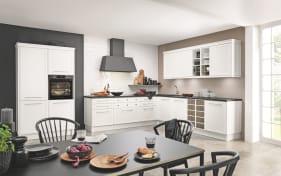 Einbauküche Torino in weiß, AEG-Geschirrspüler FSE 53600Z