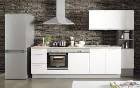 Einbauküche Cristall in weiß