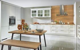 Einbauküche Malaga in weiß